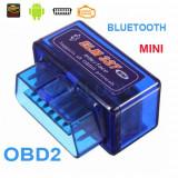 Diagnoza Universala Elm327 Mini Bluetooth OBDII OBD2 versiunea 2.1 + Torque Full - Interfata diagnoza auto