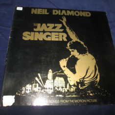 Neil Diamond ‎– The Jazz Singer : soundtrack _ vinyl(LP) Germania - Muzica soundtrack capitol records, VINIL