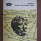 Scrieri filozofice alese / Lucius Annaeus Seneca - Filosofie
