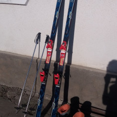 Salomon exp 9000 schiuri + clapari si bete - Set ski