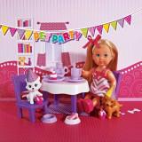 Papusa Evi Pet Party petrecere cu animale 5732831 Simba