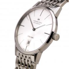 Hamilton American Classic Intra-Matic Silver Dial Mens Watch H38755751 - Ceas barbatesc