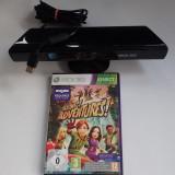 Senzor Camera Move adaptor Kinect Xbox360 jocuri Adventures originale impecabil