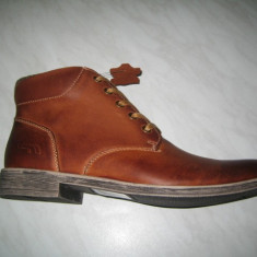 Pantofi barbati piele naturala WINK; cod HL6411-1;marime:41-46, Marime: 43, 44, 45, Culoare: Camel