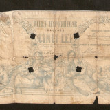 2 BYLET HYPOTECAR 5 LEI 1877 PERFORAT
