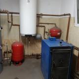 Vand centrala termica pe lemne complet functionala cu autonomie 10 ore