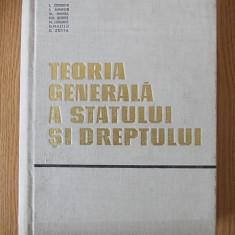 TEORIA GENERALA A STATULUI SI A DREPTULUI- CETERCHI, DEMETER, HANGA, BOBOS - Carte Teoria dreptului