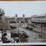 Bucuresti, Gara de Nord, circulata, 1932 - Carte Postala Muntenia dupa 1918, Fotografie