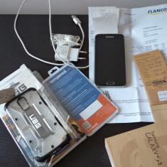Samsung Galaxy S5 CA NOU. GARANTIE 15 luni - Telefon mobil Samsung Galaxy S5, Negru, 16GB, Neblocat, Single SIM