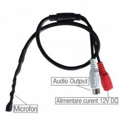 Microfon extern camera video supraveghere DVR - Microfon Camera Video