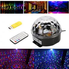 Glob tip laser disco lumini +STICK - Lumini club