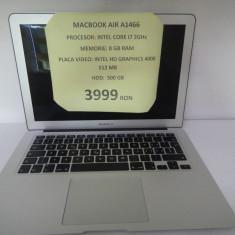 MACBOOK AIR A1466 (LEF) - Laptop Macbook Air Apple, 13 inches, Intel Core i7, 8 Gb, 500 GB