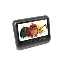 Resigilat - Monitor auto PNI M810-B negru cu ecran de 9 inch si intrare AV, aplicabil pe tetiera - TV Auto
