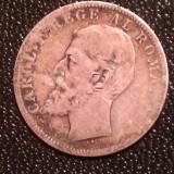 MONEDA 1 LEU 1894 CAROL I - Moneda Romania