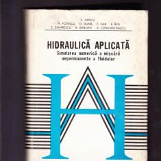 S. HNCU -HIDRAULICA APLICATA SIMULAREA NUMERICA