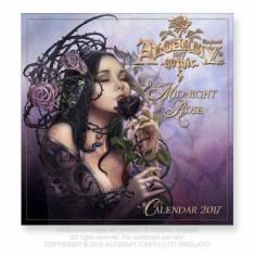 Calendar 2017 de perete Alchemy Gothic - The Midnight Rose