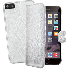 Husa Flip Cover Celly 102212 Ambo alba plus capac spate detasabil pentru Apple iPhone 6 Plus - Husa Telefon
