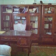 Mobila stil biblioteca-living