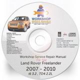 Land Rover Freelander II 2 2007, 2010 Workshop Service Manual + Shema Electrica - Manual auto