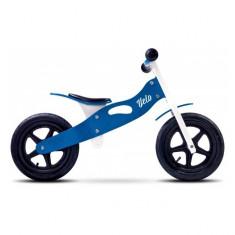 Bicicleta de lemn Velo Blue Toyz - Bicicleta copii