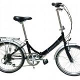 Bicicleta Pliabila, Adriatica, Cadru 350 mm, Roti 20 inch, Negru Adriatica - Bicicleta pliabile