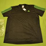 Tricou ADIDAS Climalite running original marimea L / Adidas Performance - Tricou barbati Adidas, Marime: L, Culoare: Negru