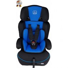 Scaun auto 9-36 kg FreeMove Blue BabyGo - Scaun auto copii grupa 1-3 ani (9-36 kg)