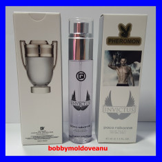 FIOLA PARFUM BARBAT PHEROMON PACO RABANNE INVICTUS 45ML - Parfum barbati Paco Rabanne, Apa de toaleta