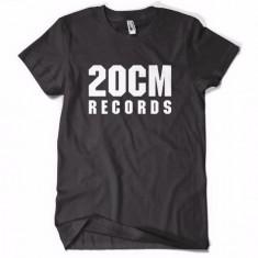Tricou 20 CM RECORDS PARAZITII 20CM rap hip hop pe spate Parazitii - Tricou barbati, Marime: M, Culoare: Negru