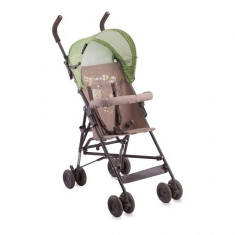Carucior sport copii Light Beige and Green Bears Lorelli - Carucior copii Sport Lorelli, Verde