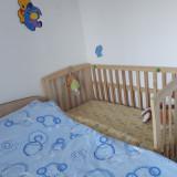 Patut lemn - Patut lemn pentru bebelusi, 120x60cm