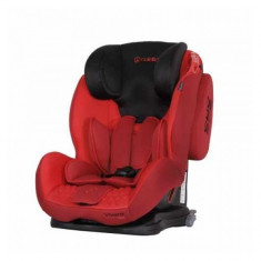 Scaun auto 9-36 kg Vivaro cu Isofix Red Coletto - Scaun auto copii grupa 1-3 ani (9-36 kg)