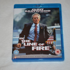Film - In The Line Of Fire [1 Disc Blu-Ray], Release UK Original - Film drama columbia pictures, Romana