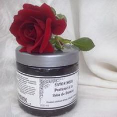 Sapun Negru cu Trandafir de Damasc