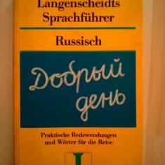 Langenscheidts Sprachfuhrer Russisch - Carte Literatura Germana