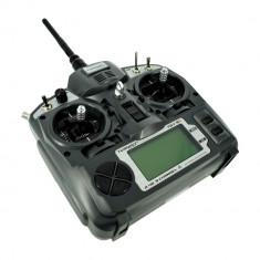 Pereche Emiţător Turnigy 9X 9 Canale cu Modul şi Receptor 8 Canale (Mod 2, Firmware v2) - Aeromodelism