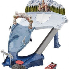 Jucarie Disney Cars Ice Racers Snowdrift Spinout Playset