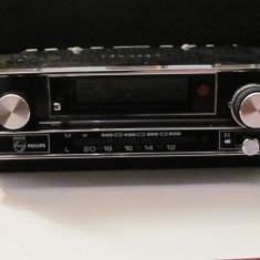 PVM - Radio casetofon auto vechi PHILIPS doar M & L anii '50 colectie
