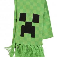 Fular Creeper Face produs original sub licenta MInecraft - Esarfa, fular Copii