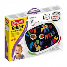 Joc Creativ Tablet Magnetico Letters Basic Quercetti Forme Magnetice - Jocuri arta si creatie