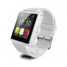 SMARTWATCH U-WATCH BLUETOOTH U8 ALB ORIGINAL MODEL NOU - Pebble Smartwatch