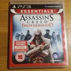 PS3 Assassin's Creed Brotherhood Essentials - joc original by WADDER - Jocuri PS3 Ubisoft, Actiune, 16+, Single player