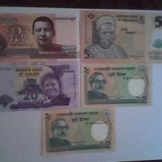 Lot bancnote straine 5 buc. - vezi descriere, Asia
