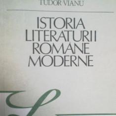 Istoria literaturii romane moderne de Vladimir Steinu, Tudor Vianu - Studiu literar
