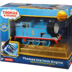 Fisher Price 70th Anniversary Special Edition Thomas The Tank Engine Die-Cast - Trenulet de jucarie Fisher Price, Unisex