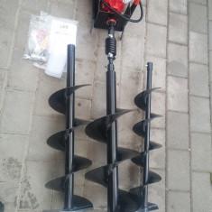 Burghiu pamant FOREZA motoburghiu sfredel LEX BENZINA 5.2 Kw