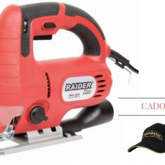 Fierastrau pendular 650 W Raider Power Tools RDP-JS25 + CADOU: Sapca Topmaster - Fierastrau circular
