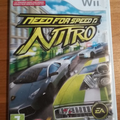 Wii Need for speed Nitro - joc original PAL by WADDER - Jocuri WII Electronic Arts, Curse auto-moto, 3+, Multiplayer