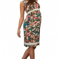 Rochie gravide model floral