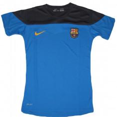 Tricou NIKE FC BARCELONA Model 2015 Super Calitate - Tricou barbati Nike, Marime: XS, S, M, L, XL, Culoare: Albastru, Maneca scurta, Poliester